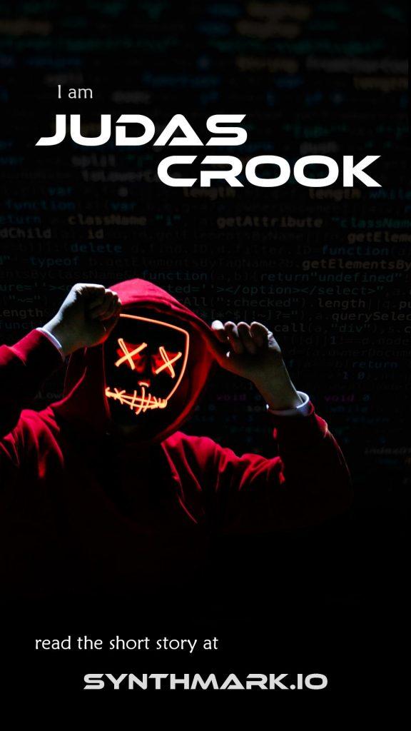 I am Judas Crook short story banner